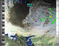 18 ноября 2013 NOAA-19 HVCT with precipitation