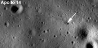 Место посадки Аполлона-14 (с LRO)